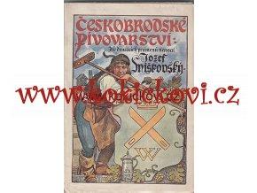 Českobrodské pivovarnictví Miškovský 1913 dějiny pivovaru pivo