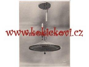 FRANTA ANÝŽ ORIGINÁLNÍ FOTOGRAFIE SVÍTILNY LUST LAMPA 193?
