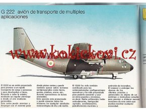 VOJENSKÉ DOPRAVNÍ LETADLOAERITALIA G222 - C-27A SPARTAN