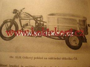 KONSTRUKCE MOTOCYKL JAWA 500 ČZ DKW NSU RIKŠA 1960