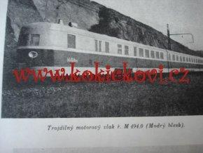 KOLEJOVÉ MOTOROVÉ VOZY E. ROST 2 DÍLY 1947