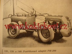 ATLAS ZAHRADNICKÉHO NÁŘADÍ - NAPŘ. MOTOROBOT PF-6 1956