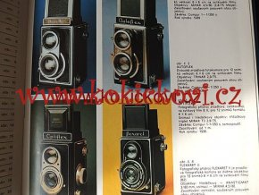 Katalog výrobků Meopta Přerov rv.1986 i Flexaret
