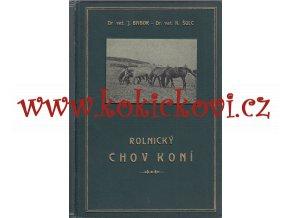 ROLNICKÝ CHOV KONÍ 1925 BABOR