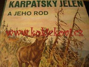 KARPATSKÝ JELEN A JEHO ROD 1942 myslivost parohy