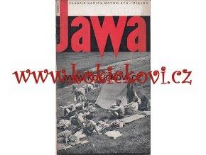 ČASOPIS JAWA ČÍSLO 8 > 1934 - 1. ROČNÍK JEDNO ČÍSLO