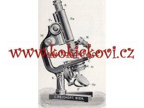 MIKROSKOPY VÍDEŇ REICHERT KATALOG VÝROBKŮ 1908/09