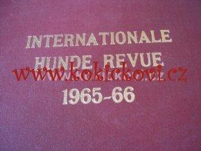 INTERNACIONALE HUNDE REVUE 1965-66