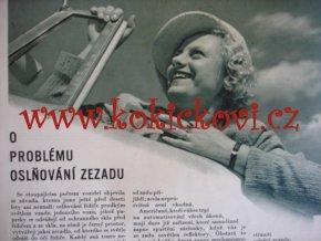ČASOPIS AUTO ČÍSLO 17/1936 TISK MELANTRICH - AUTOKLUB REPUBLIKY ČESKOSLOVENSKÉ