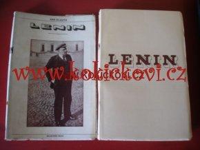 Jan Slavík Lenin rok vydání 1934 nakladatel Melantrich