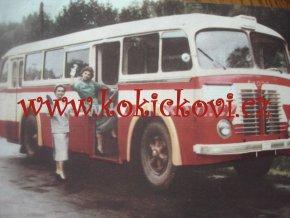 AUTOBUS ŠKODA 706 RO ORIGINÁL 1956 PROSPEKT