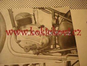 MOTOCYKL ČZ 150 C ORIGINÁL PROSPEKT Mototechna
