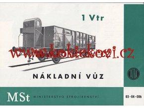 NÁKLADNÍVŮZ 1 Vtr TATRA PROSPEKT A4 1955