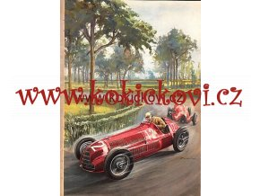 1947 ALFA ROMEO 6C 2500 SPORT SUPER SPORT BROCHURE PROSPEKT
