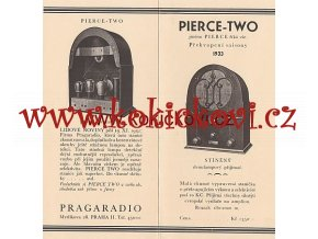 PRAGARADIO PIERCE TWO THREE 2 PROSPEKTY RUDOLF PAZDERKA