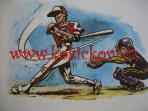 Zahrajte si softball - ilustrace Kája Saudek neprodejný výtisk