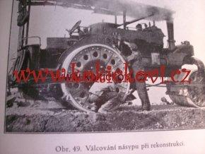 PARNÍ VÁLEC STAVBA SILNIC 1932 STABILNÍ MOTOR