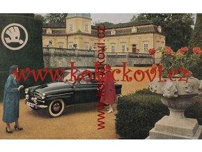 ŠKODA 440 REKLAMNÍ PROSPEKT Z ROKU 1957 ORIGINÁL STRAN 6 A4