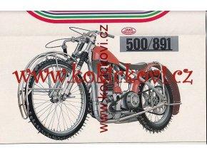 JAWA SPEEDWAY 500/891, 500/895, 500/894 - MOTOKOV - PROSPEKT
