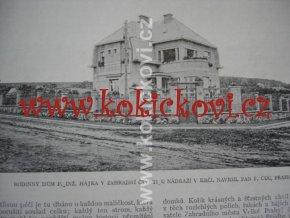 Světozor 1913 - (č.1 - 18) FOTOGRAFICKÁ REVUE MÓDA ARMÁDA ARCHITEKTURA
