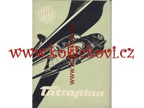 TATRA T 600 TATRAPLAN - PROSPEKT - MOTOKOV KOMPLETNÍ SADA PROSPEKTŮ ŠPANĚLSKY