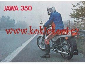 JAWA 350 TYP 638 - PROSPEKT