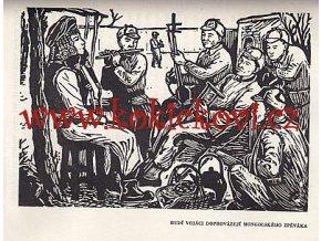 ČÍNSKÝ LID V BOJI ZA SVOBODU 1949 UVNITŘ 28 DŘEVORYTŮ A 15 ILUSTRACÍ