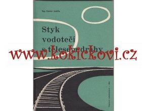 Styk vodotečí s tělesem dráhy GUSTAV ANDRLA 1958