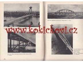 KOVOVÉ MOSTY - PŘÍKLADY KONSTRUKCE VÝPOČTY SNTL 1975