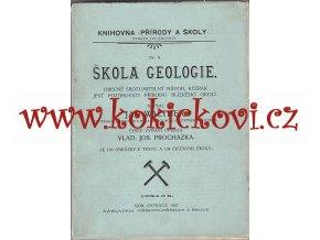 ŠKOLA GEOLOGIE 1907 JAN WALTHER