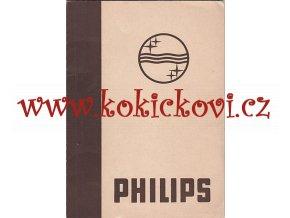 PHILIPS KATALOG ZESILOVAČE MIKROFONY ZESILOVACÍ ÚSTŘEDNY 1941