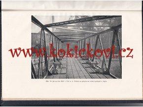 Poklopový jez mostový - Jan Záhorský 1916 MONOGRAFIE