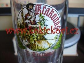 Pivní sklenice Krakonoš Z Trutnova 1582 (0,5L)
