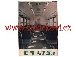 EM 475.1 Vagonka Tatra Studénka N.P., Československo, propagační publikace