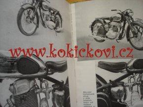 MOTOCYKL VYŠŠÍ ŠKOLA MOTORISMU OBA DÍLY 1954 JAWA 350