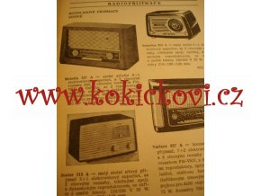 KATALOG ELEKTRO-RADIO ZBOŽÍ 1961