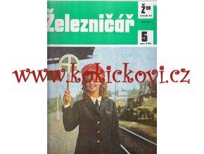 ČASOPIS ŽELEZNIČÁŘ 1990 KOMPLETNÍ 24 ČÍSEL