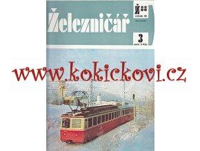 ČASOPIS ŽELEZNIČÁŘ 1988 KOMPLETNÍ 24 ČÍSEL