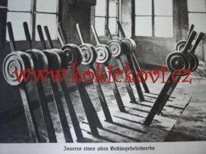 100 let německých železnic 1938 5cm tlustá německy