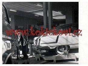 TATRA 603 - REKLAMNÍ FOTOGRAFIE BRNO VÝSTAVIŠTĚ 1956 - ROZMĚR 18*13 CM