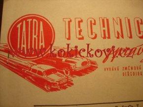 TATRA KOPŘIVNICE ZPRÁVY Z PODNIKU ROČ. 1 Č.2 1958 - TATRA 111R A TATRA 603