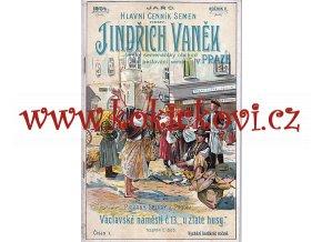 HLAVNÍ CENNÍK SEMEN - TRAVINY PÍCNINY ZELENINA LEDEN 1904 DEKORATIVNÍ OBÁLKA
