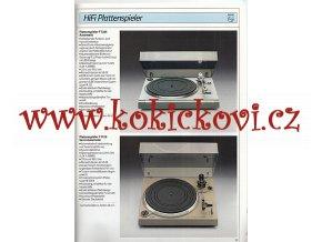 HIFI PHILIPS KATALOG LÉTO 1984 - A4 - 48 STRAN GRAMOFONY PŘEHRÁVAČE ...