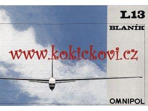 BLANÍK L 13 - LET KUNOVICE - OMNIPOL - PROSPEKT - FRANCOUZSKY