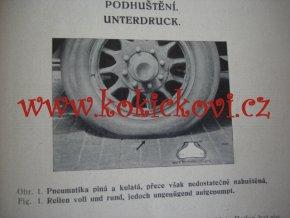 PNEUMATIKY FISK - REKLAMNÍ BROŽURA A5 - 20 STRAN - 193?