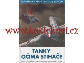 TANKY OČIMA STIHAČE - PILOTI RAF - 1945 - A5 - 50 STRAN