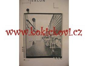 ČASOPIS SALON KOMPL ROČNÍK 6/1928 VYŠŠÍ SPOLEČNOST - včetně obálek 12 ČÍSEL