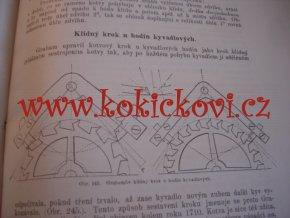 HODINÁŘSTVÍ - V. SUŠICKÝ - VÝŇATEK Z KRONIKY PRÁCE - 64 STRAN