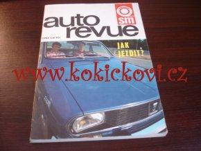AUTO REVUE 1973 - NAPŘ. CENY VOZŮ - ŠESTIDENNÍ APOD. 160 STRAN SVĚT MOTORŮ