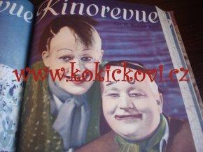 KINOREVUE 100% KOMPLET 4.ROČNÍK 1937-38 VOSKOVEC WERICH MANDLOVÁ BAAROVÁ PEŠEK BURIAN